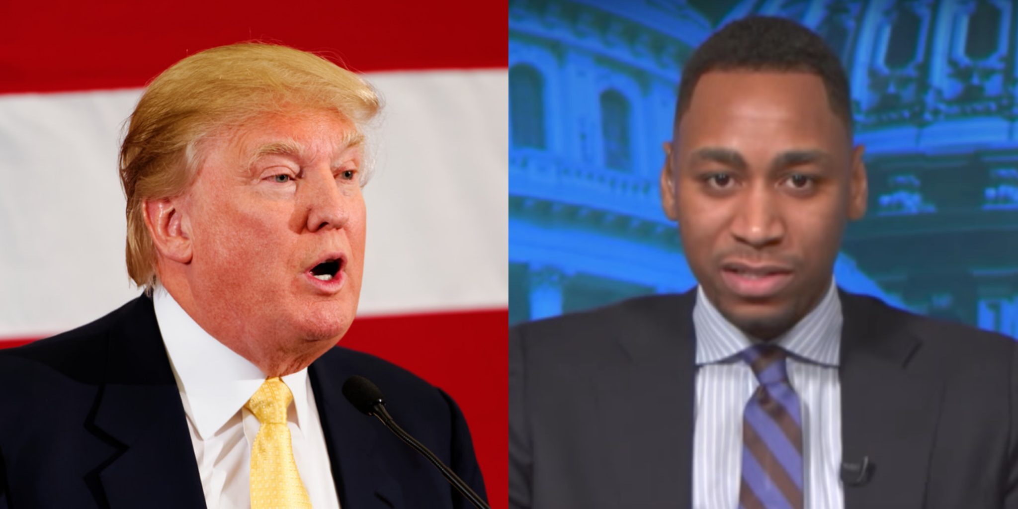 Gianno Caldwell and Donald Trump