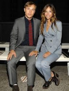 Kelsey Chow and her boyfriend,William Moseley