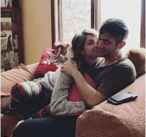 Emily Rudd and her boyfriend, Justin Blau