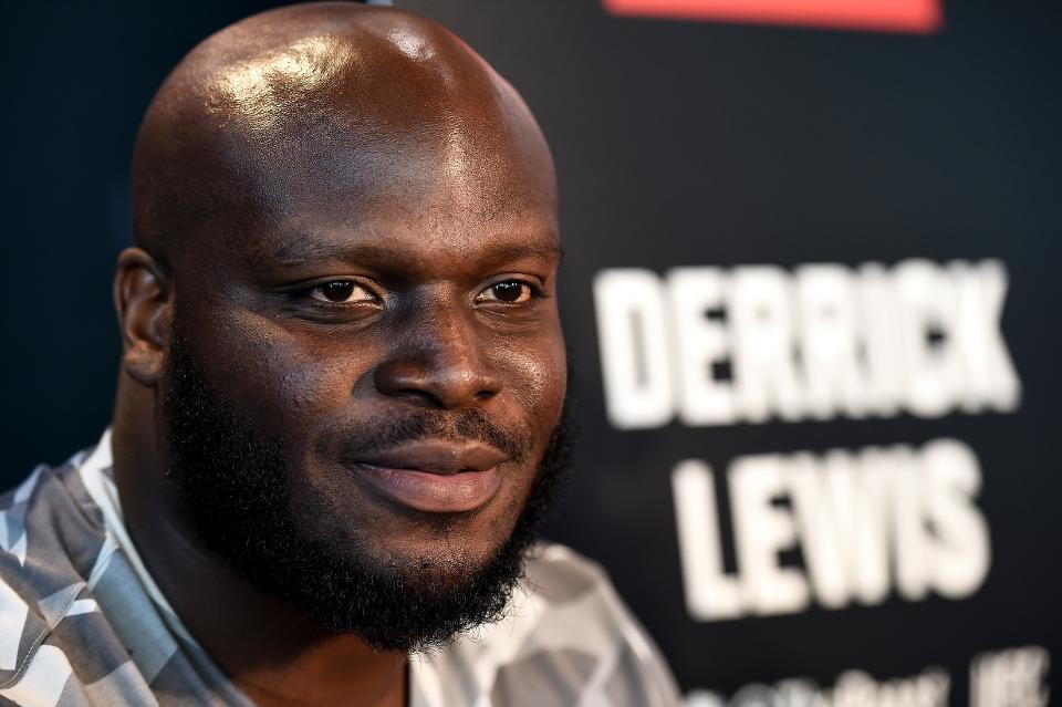 Derrick Lewis married