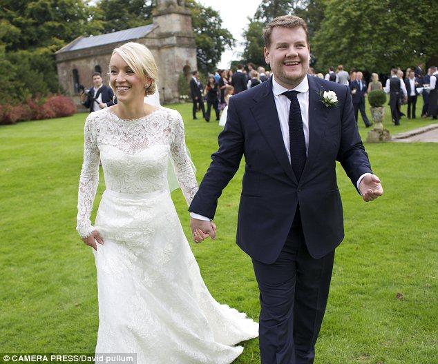 James Corden wife