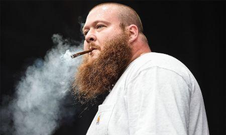 The Snippet of Action Bronson Smoking Marijuana