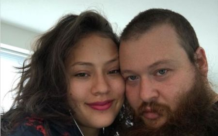 Action Bronson with probable Girlfriend