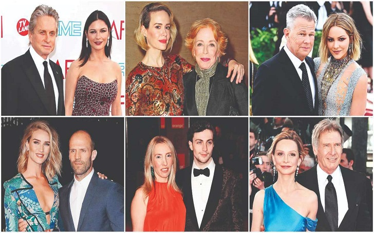 celebrity age differences