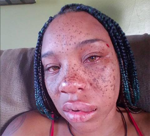 Briana Latrise faces violence,