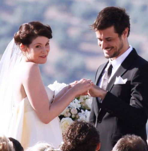 Gemma Arterton and her ex-husband, Stefano Catelli