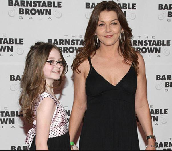 Gretchen Wilson con su hija, Grace