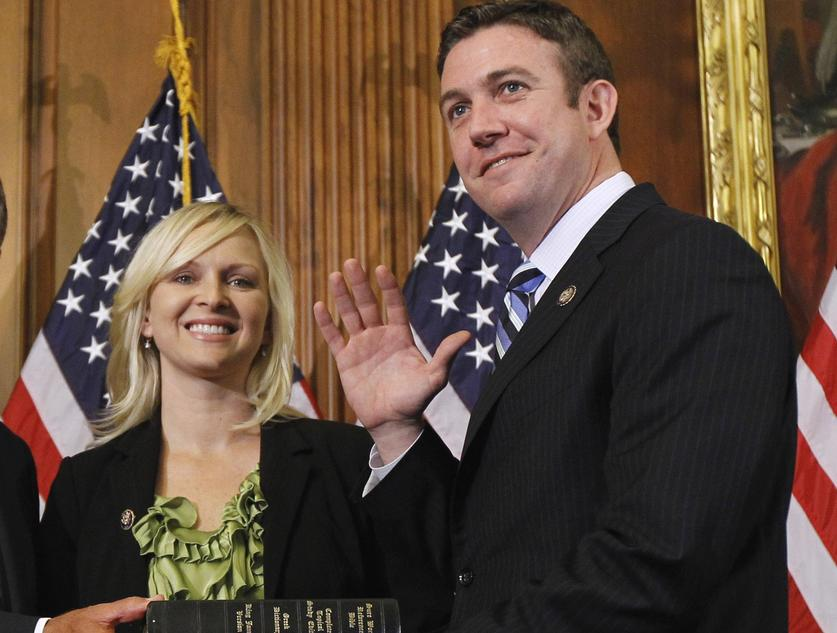 Duncan D Hunter wife