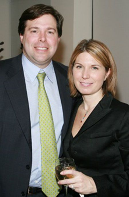 Nicolle Wallace and her husband