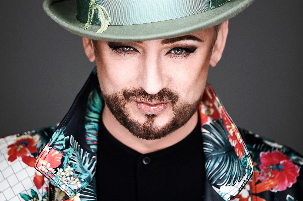 Boy George has not tied the knot yet.