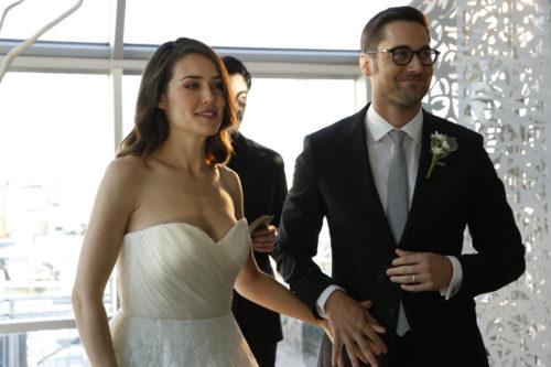 Ryan Eggold on-screen wife