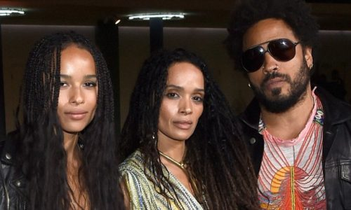 Lenny Kravitz ex-wife and their daughter