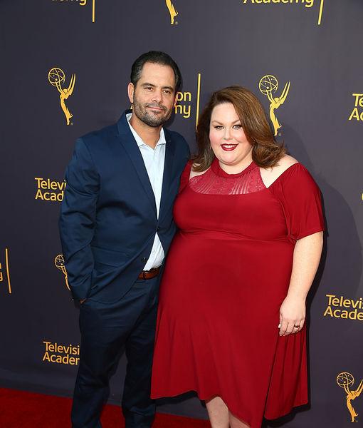 Chrissy Metz and her ex-boyfriend, Josh Stancil
