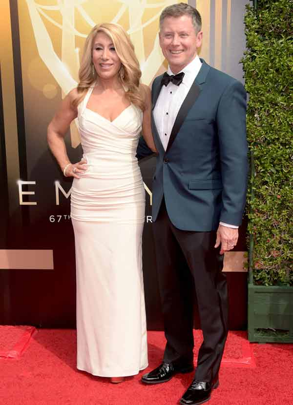 Lori Greiner with her husband