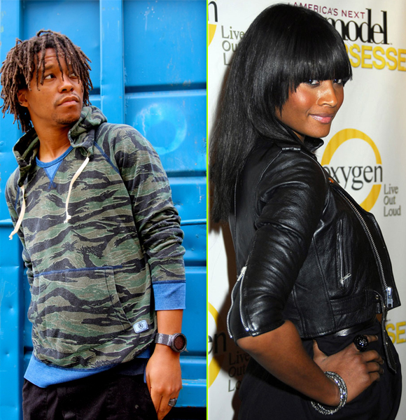 Lupe Fiasco with enchanting, Girlfriend Dani Evans