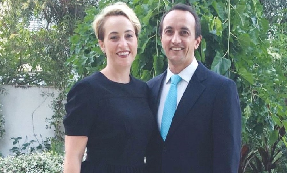 Dave Sharma married