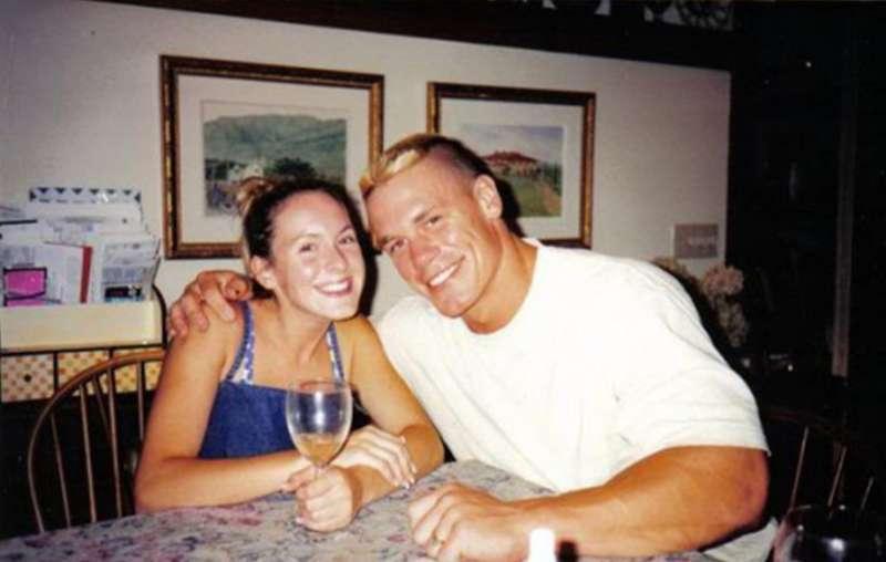 Elizabeth Huberdeau ex-husband, John Cena