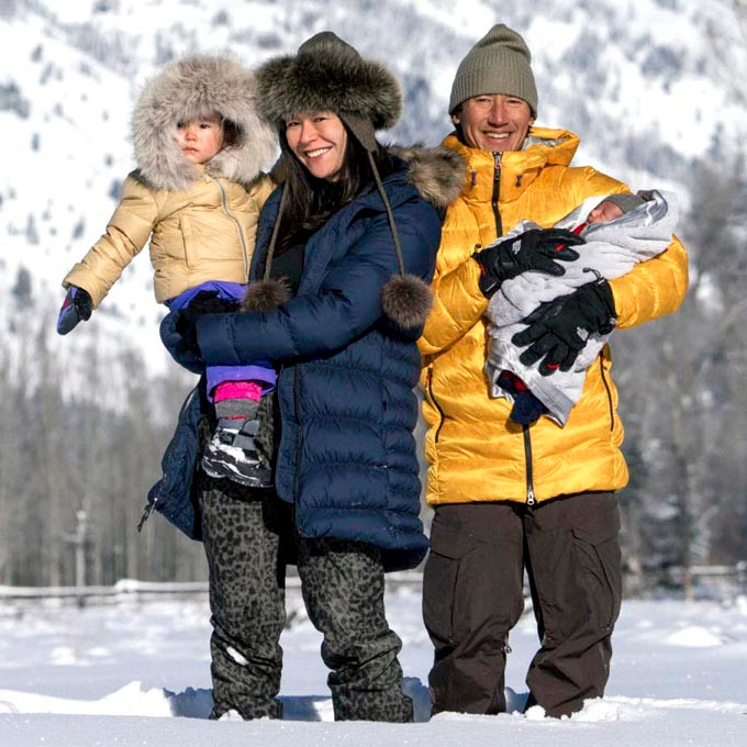 Jimmy Chin family: wife and children