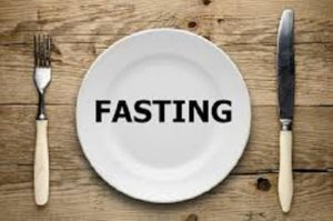 Fasting for losing weight