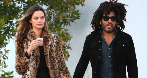 Lenny Kravitz girlfriend