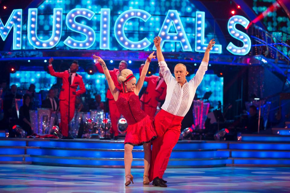 Judge Rinder at Strictly Come Dancing