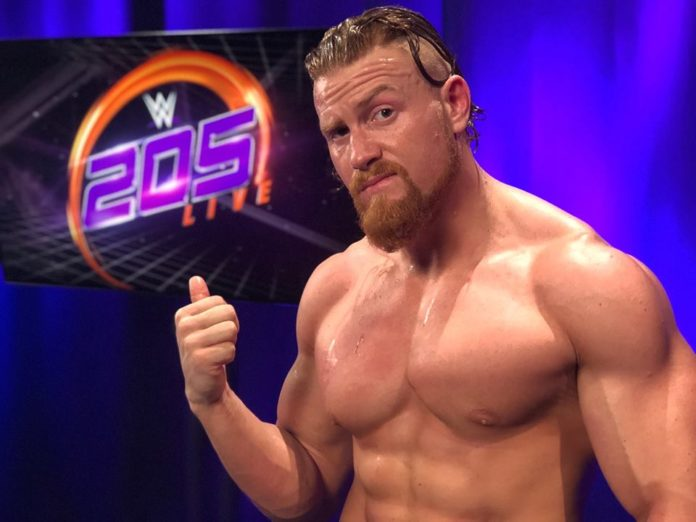Buddy Murphy engaged, fiancee, net worth, career, wiki, bio, age, height, weight, wwe, Alexa Bliss