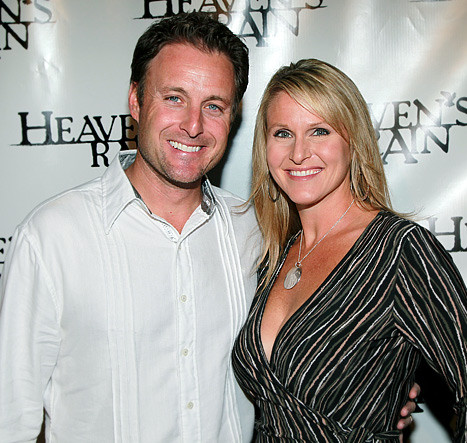 Chris Harrison and his wife, Gwen Harrison