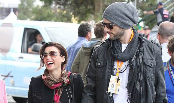 Dannii Minogue boyfriend, Adrian Newman