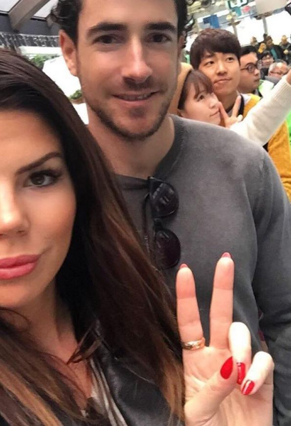 Jenna Owens ex-fiance, Alex Perry