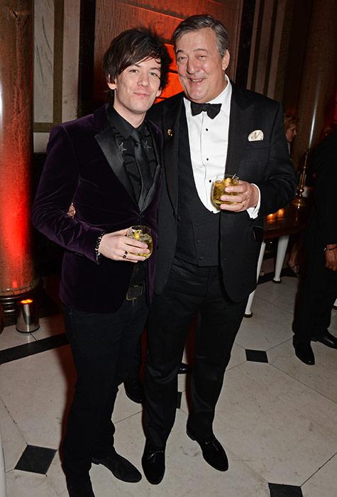 Elliot Spencer husband, Stephen Fry