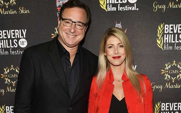 Kelly Rizzo married her husband, Bob Saget.