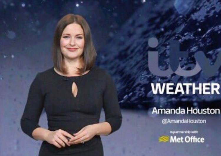 Amanda Houston age, husband, married, wedding, ITV weather, wiki, family