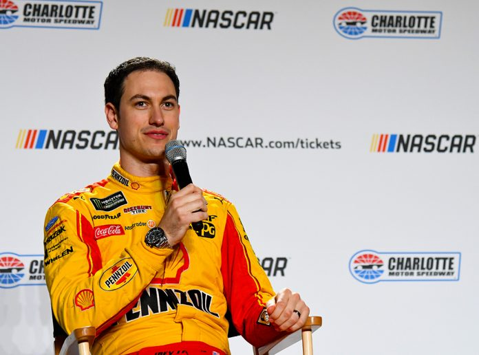 Joey Logano wife, son, net worth, age, height, sister
