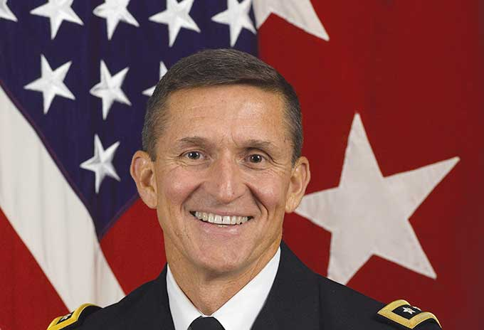 Michael Flynn married girlfriend turned wife Lori Andrade