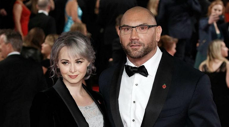 Sarah Jade is the wife of Husband Dave Bautista