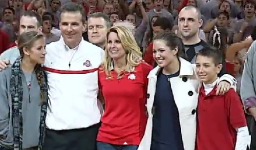 Urban Meyer family: wife and children