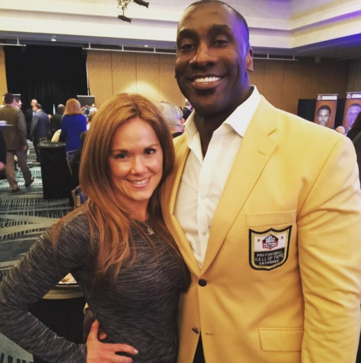 Katy Kellner is the fiancee of Shannon Sharpe but she gave birth to her son from a different father.