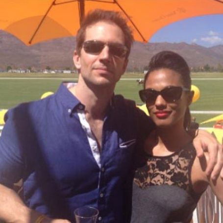 Freema Agyeman with boyfriend Luke Roberts