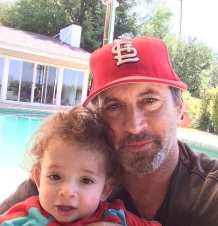 Kristine's Husband and Son Nicholas