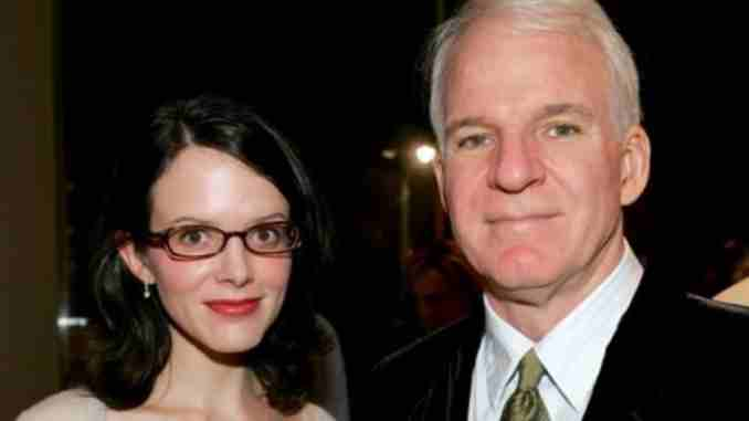 Anne Stringfield and her husband Steve Martin married in 2007.
