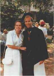 Young April McClain Delaney with her husband John Delaney