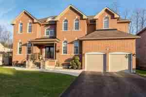 David and Krista Visentin's Home in Canada