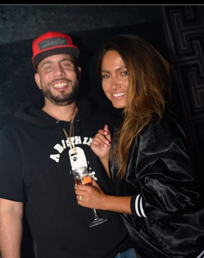 Jessica Burciaga and Dj Drama