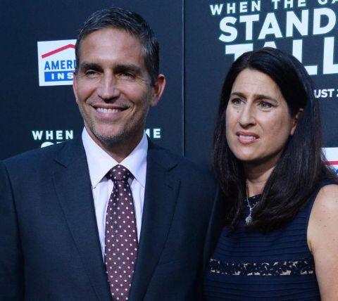 Kerri Browitt Caviezel and her Husband