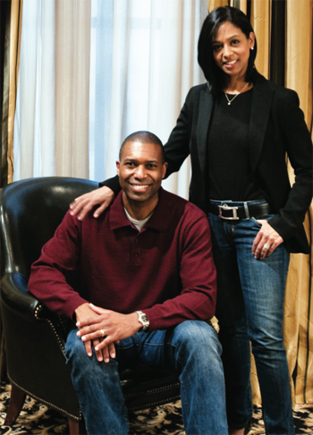 Maya Harris and husband Tony West