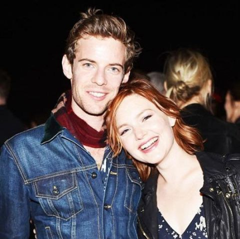Harry Treadaway and girlfriend Holliday Grainger