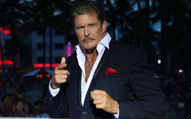 David Hasselhoff Married.