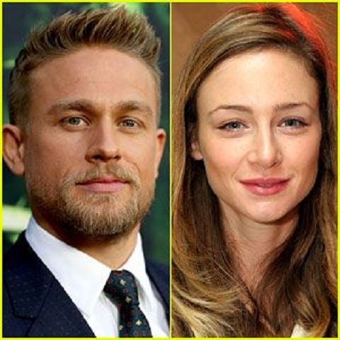 Katharine Towne with her ex-husbnd Charlie Hunnam
