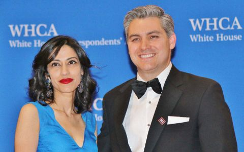 Sharon Mobley Stow with former husband Jim Acosta