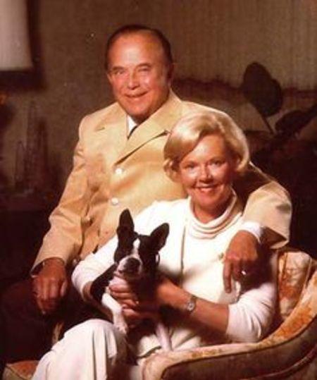 Jane Dobbins Green with Ray Kroc